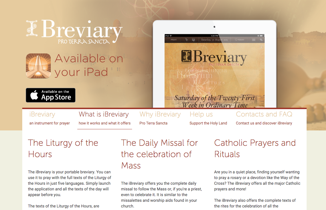 The Digital Breviary A Guide To Praying The Divine Office In A Digital World Philip Kosloski